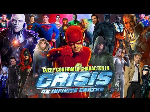 Every Character Who Will Appear in 'Crisis on Infinite Earths' Arrowverse Crossover