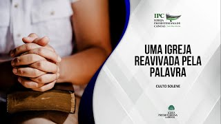 UMA IGREJA REAVIVADA PELA PALAVRA - Apocalipse 3:1-6