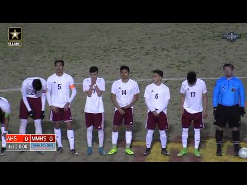 CIF Division 4 Boys Soccer Arvin at Mira Monte