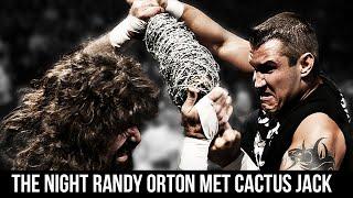 The Night Randy Orton Met Cactus Jack (Backlash 2004)