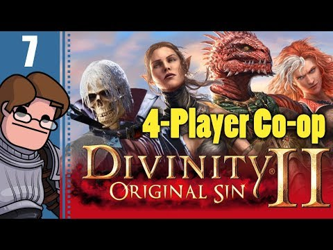 Let's Play Divinity: Original Sin 2 Four Player Co-op Part 7 - Camp Boss Griff