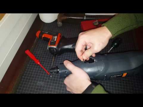Adjustable stroke diy power scraper