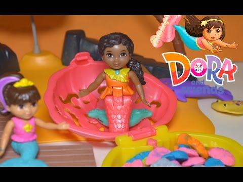 dora and friends dive and splash mermaid dora