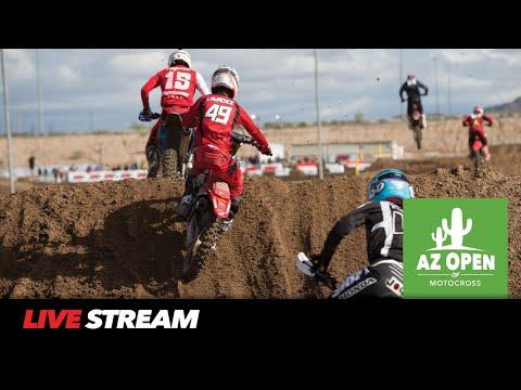 2019 AZ Open Of Motocross | Friday Live Stream