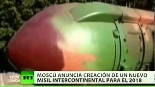 Rusia diseña un nuevo misil para superar el escudo de EE.UU. en 2018