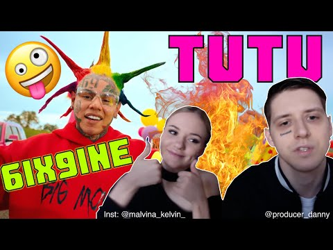 РЕАКЦИЯ МУЗЫКАНТОВ НА 6IX9INE - TUTU (Official Music Video) / RUSSIANS REACT