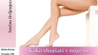 Kako shujšati v noge in trebuh - spodbudite hujšanje z gibanjem