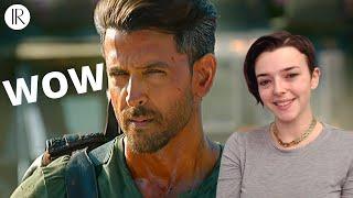 War Trailer | Hrithik Roshan | REACTION | Indi Rossi