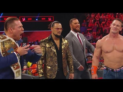 WWE RAW 8/21/2017 - Review & ENEMA - The Miz Shines ! Cena Roman