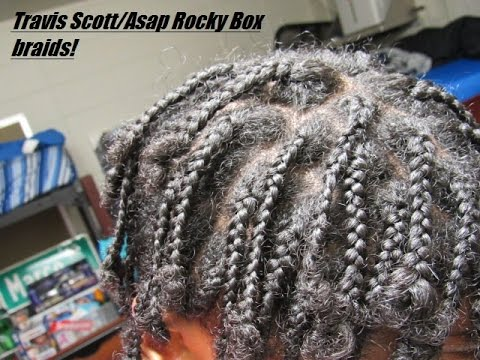Box Braids😈 On Short Hair П�� Asap Rocky Travis Scott