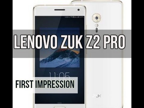 Lenovo Zuk Z2 Pro First Look | Digit.in