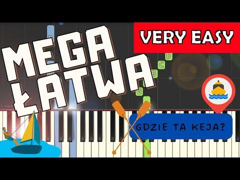 🎹 Gdzie ta keja - Piano Tutorial (MEGA ŁATWA wersja) 🎹