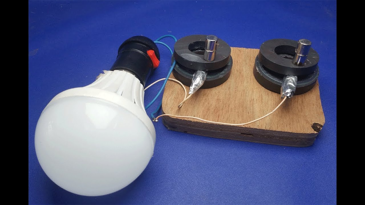 Free Energy Light bulbs - using Magnet And Coal stones ...