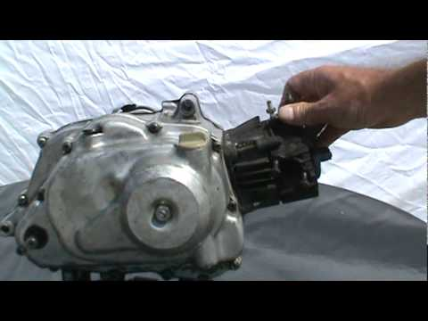 HONDA QA50, ENGINE, REBUILD - YouTube