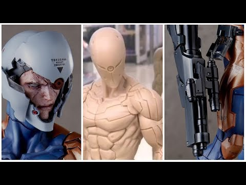 Gecco 1/6 Scale Cyborg Ninja Statue from Metal Gear Solid