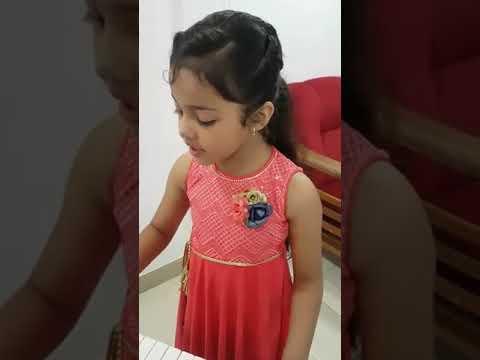 Mere Rashke qamar instrumental by Cute girl