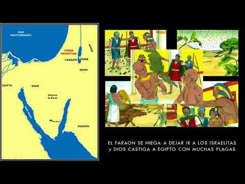 Moises   El Exodo   Camino A La Tierra Prometida 23 Ago