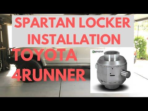 Toyota 4runner Spartan Locker Install (Front Differential)