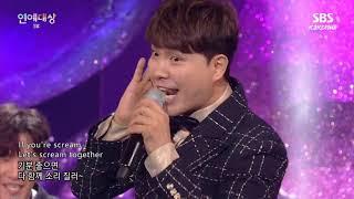 【KJKCHINA】2018SBS Entertainment Awards Opening Kim Jong Kook cut eng sub 2018演艺大赏 金钟国开场cut英字