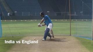MS DHONI HITTING BIG SIXES IN ENGLIND MATCH