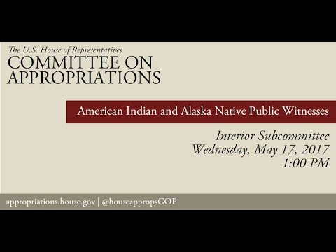 Hearing: American Indian and Alaska Native Public Witnesses