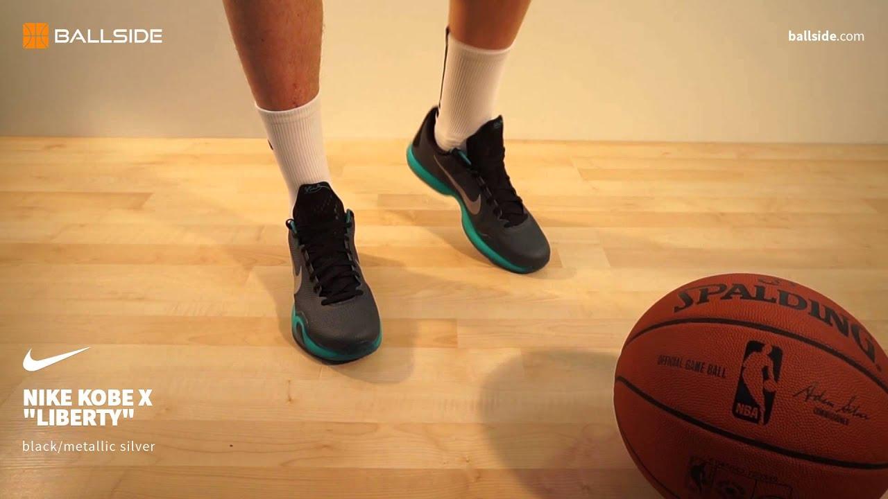 Nike Kobe X Liberty black metallic