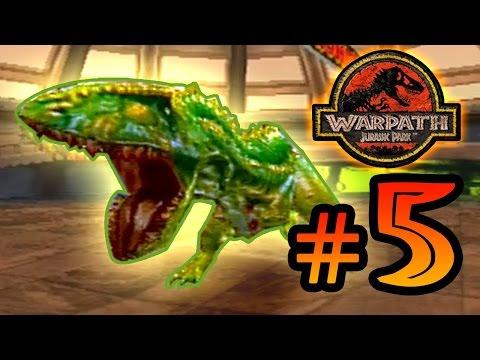 Acrocanthosaurus Warpath Jurassic Park (PS1) Ep 5  [ Jurassic Park Month ]