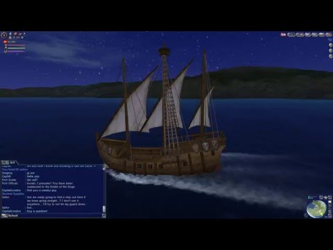 Uncharted Waters Online Gran Atlas Gameplay change course maritime part 7