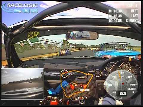Steve Roberts Onboard 2018 Mazda Supercup Castle Combe Race 1