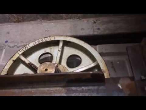 Elevator Upgrade Part 5 Reroping 875 ft of Elevator Hoist Rope #1(A)