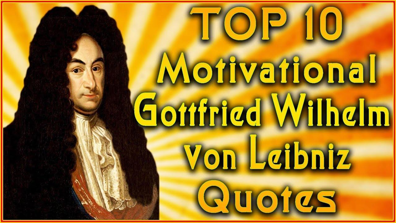 Top 10 Gottfried Leibniz Quotes | Famous Quotes ...