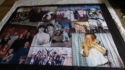 DIY Cutest gift ever! So Easy! Picture Blanket