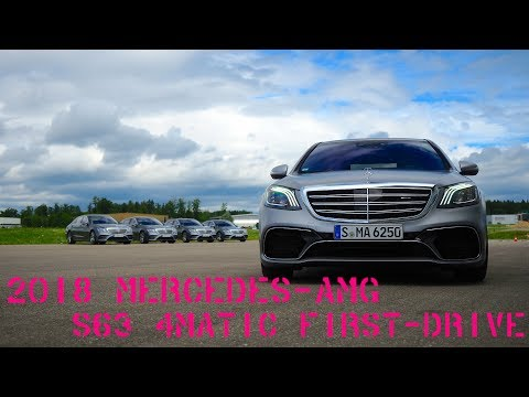 2018 Mercedes-AMG S63 first-drive