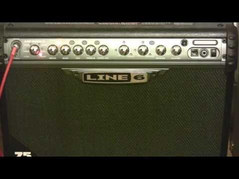 Line 6 Spider III 75 Watt Amp Demo Review
