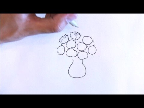 Illustration Amp Drawing Tips How To Draw Roses Youtube