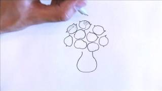 Illustration & Drawing Tips : How to Draw Roses