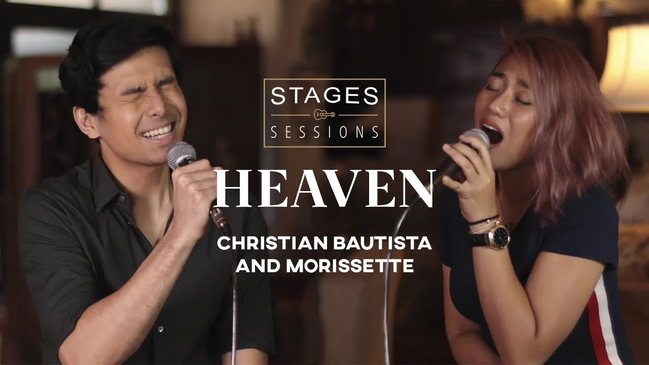 "Christian Bautista and Morissette - ""Heaven"" (a Bryan Adams cover) Live at Stages Sessions"