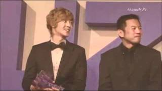 김현중 (Kim Hyun Joong) Yahoo Buzz Awards 2011 [2011.12.20]