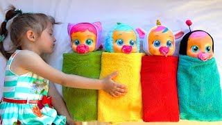 Ksysha play with Dolls and new Toys