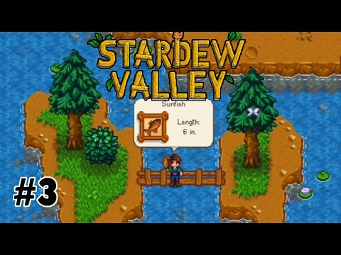 Our First Fish! || Let's Play Stardew Valley on Xbox One! [3]