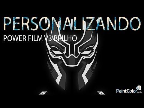 APRENDA A PERSONALIZAR COM POWERFILME V3 BRILHO
