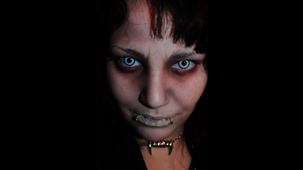 Devil Inside Me Inspired Makeup.