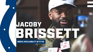Jacoby Brissett Continues To Grow In Offense