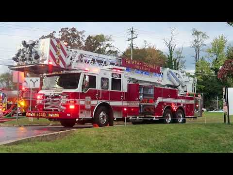 HOUSE FIRE | ON SCENE | Fairfax County Fire and Rescue