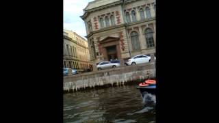 Санкт Петербург с воды (экскурсия по рекам и каналам) Ч.4(, 2014-08-15T08:08:12.000Z)