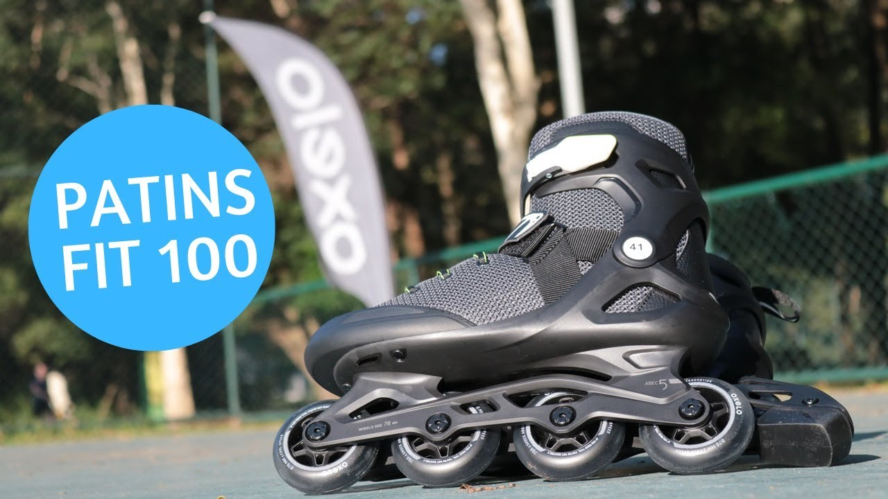 Review do patins FIT100 da Decathlon