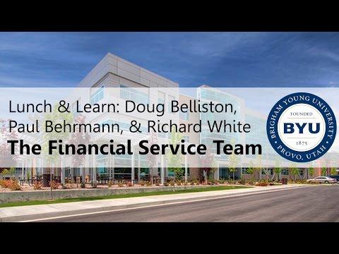 Lunch & Learn: Belliston, Behrmann, & White -- The Financial Service Team