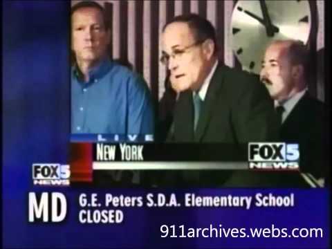 """Giuliani The Night of 9-11-01 """"We will rebuild"""""""