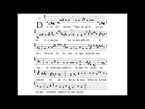 Dominica XXIII. post Pentecosten - INTROITUS - Dicit Dominus