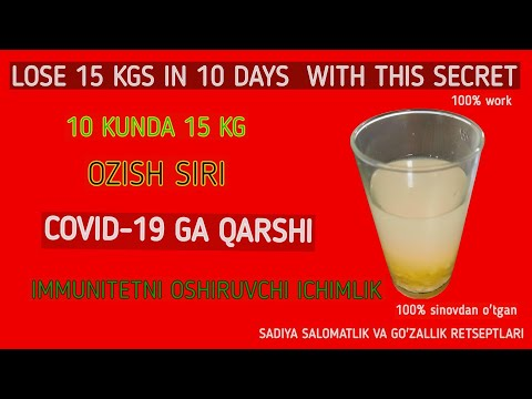 10 KUNDA 15 KG OZISH SIRI // LOSE 15 KG IN 10 DAYS WITH THIS SECRET